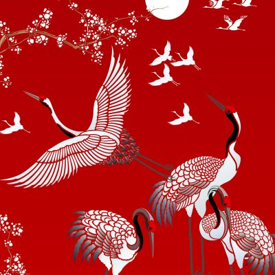 all-japanese-cranes-stencil