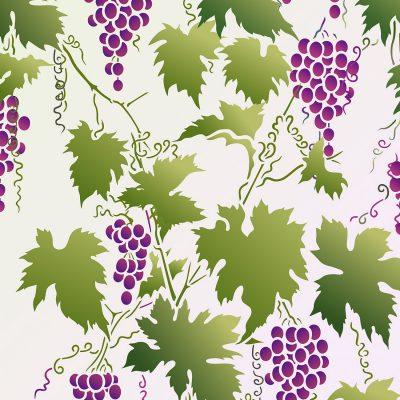 grapevine-stencil
