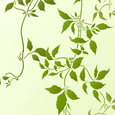 large-trailing-leaves-stencil