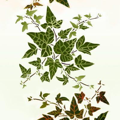 little-ivy-stencil