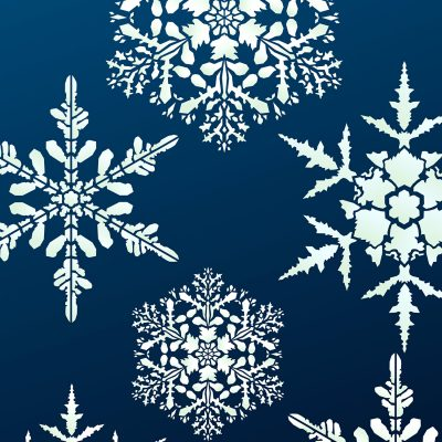 large-snowflakes-stencil