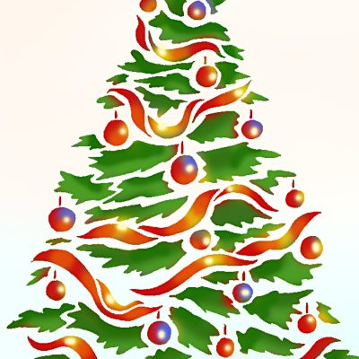 oversize-christmas-tree-stencil