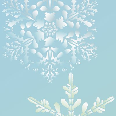 oversize-snowflakes-stencil