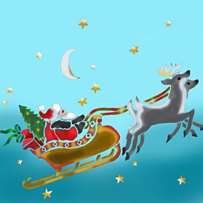 santa-sleigh-stencil-1