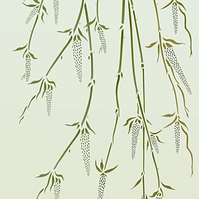 willow-catkins-stencil